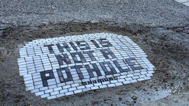Pothole not